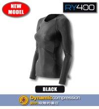 【NewModel】RY400ウィメンズロングスリーブ Black