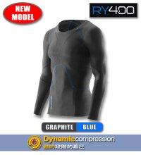 【NewModel】RY400メンズロングスリーブ Graphite/Blue
