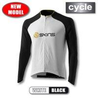 CYCLE-PRO メンズ ロングスリーブジャージ White/Black